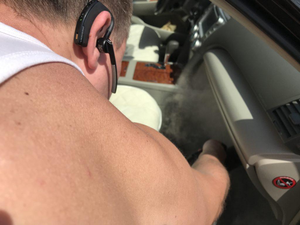 Озонирование и сухой туман в авто